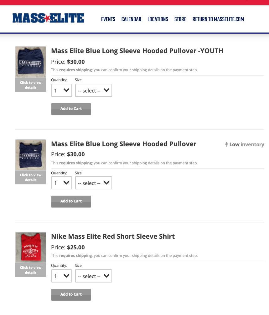 Mass Elite Gear Store